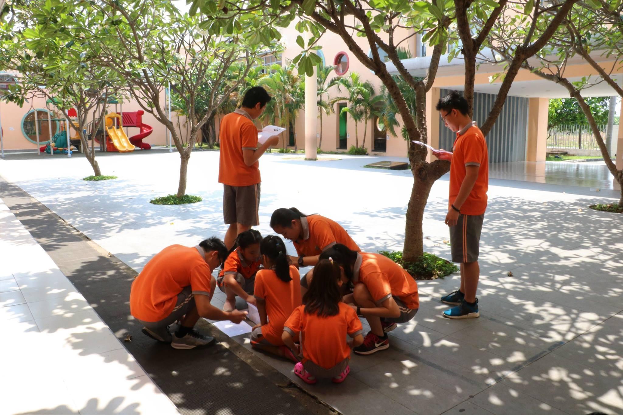 Science Buddies - where senior and junior students exchange