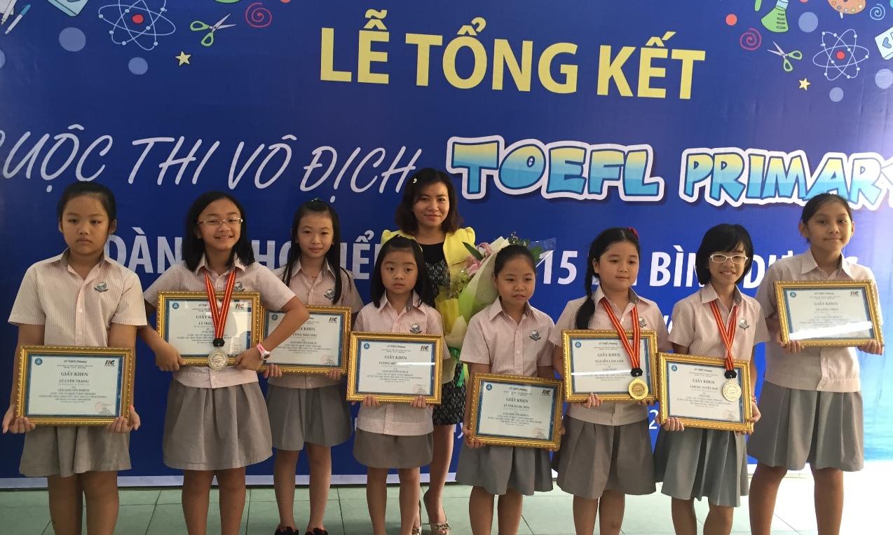 2015 Binh Duong TOEFL Primary Challenge