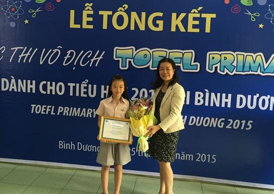 TOEFL Bao Nhu