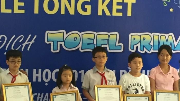 TOEFL Hong Thanh
