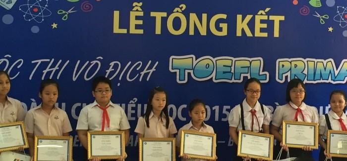 TOEFL Yr 3-4